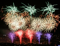 fireworks illustrate alternative treatments for depression