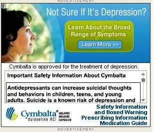 Information on symptoms of severe depression/suicide?